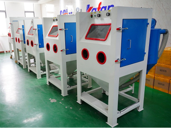 Singapore Customer Order 8 Sets Sandblasting Cabinets