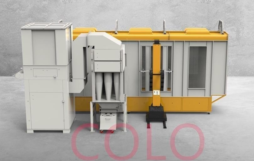 Multi Cyclone for Powder Coating Booth