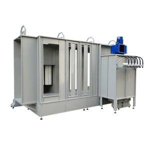 Automatic Type Tunnel Powder Coating Booth for Single Color